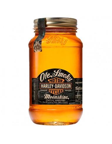 Ole Smoky Harley Davidson Charred Moonshine 50cl