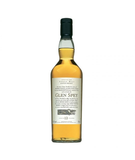 Glen Spey 12 Years-Flora And Fauna 70 cl