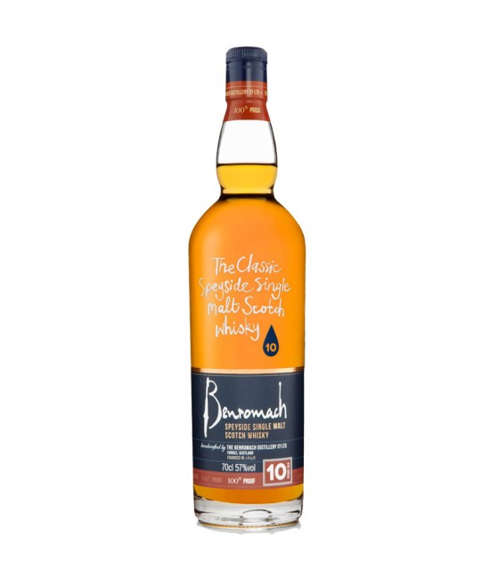 Benromach 10 Year old 100 Proof 70 cl