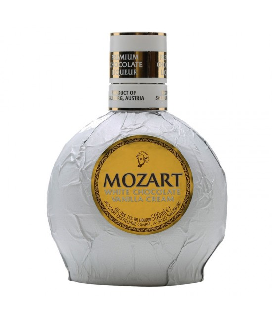 Mozart White Chocolate Vanilla Cream 70 cl